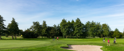 Golfcourse Holland Zeeland Goes